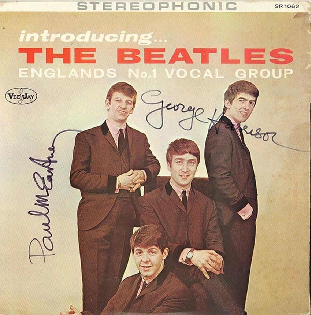 "Beatles ""Introducing the Beatles"" Album"