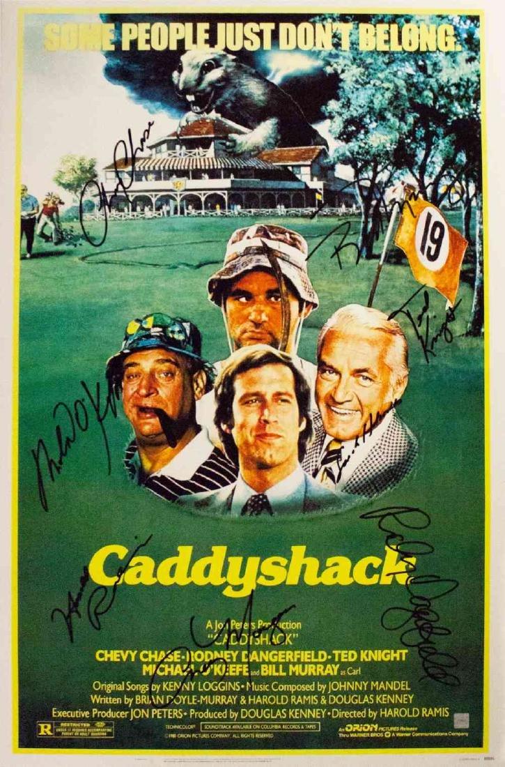 Caddyshack – Signed Movie Poster
