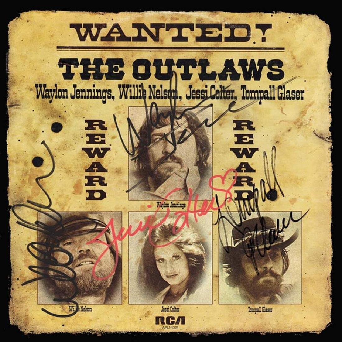 "The Outlaws ""Wanted"" Album"