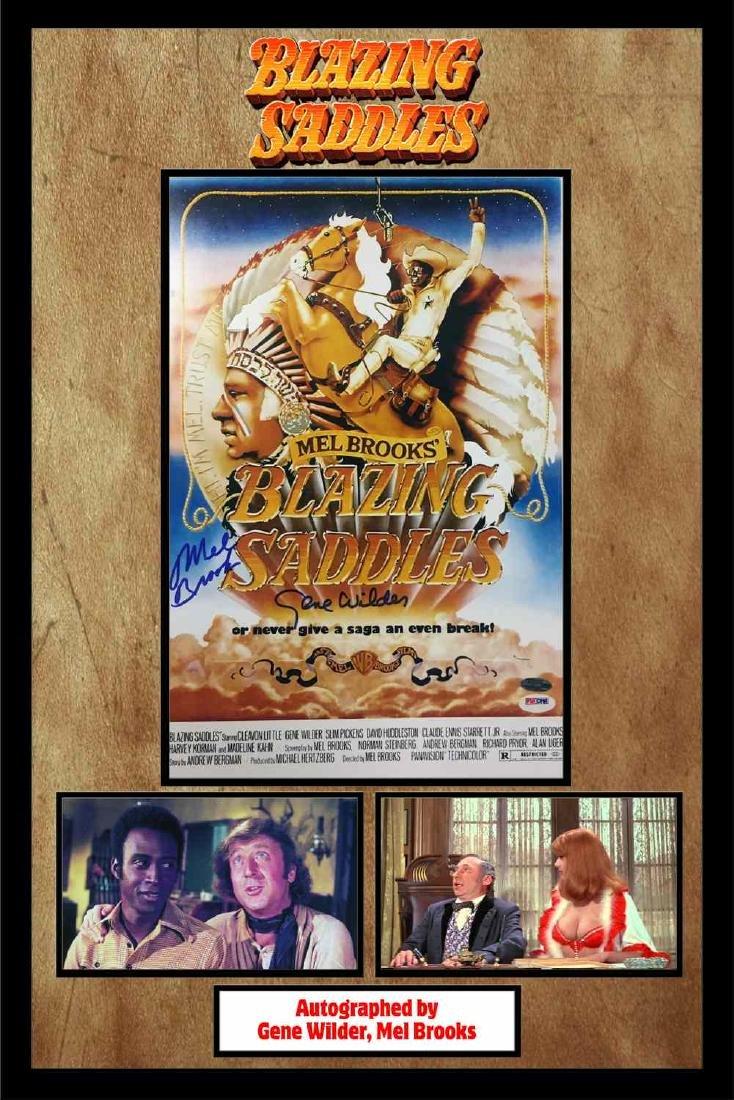 Blazing Saddles Mini Poster Collage