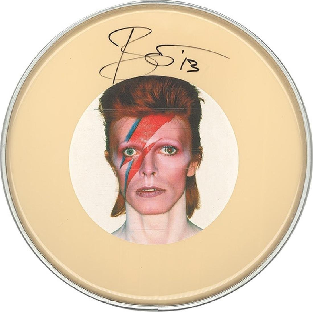 """David Bowie """"Aladdin Sane"""" Drum Head"""