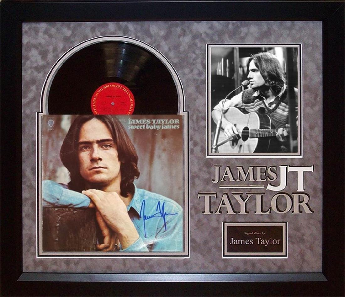 "James Taylor ""Sweet Baby James"" Album"