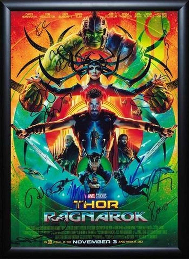 Thor Ragnarok - Signed Movie Poster