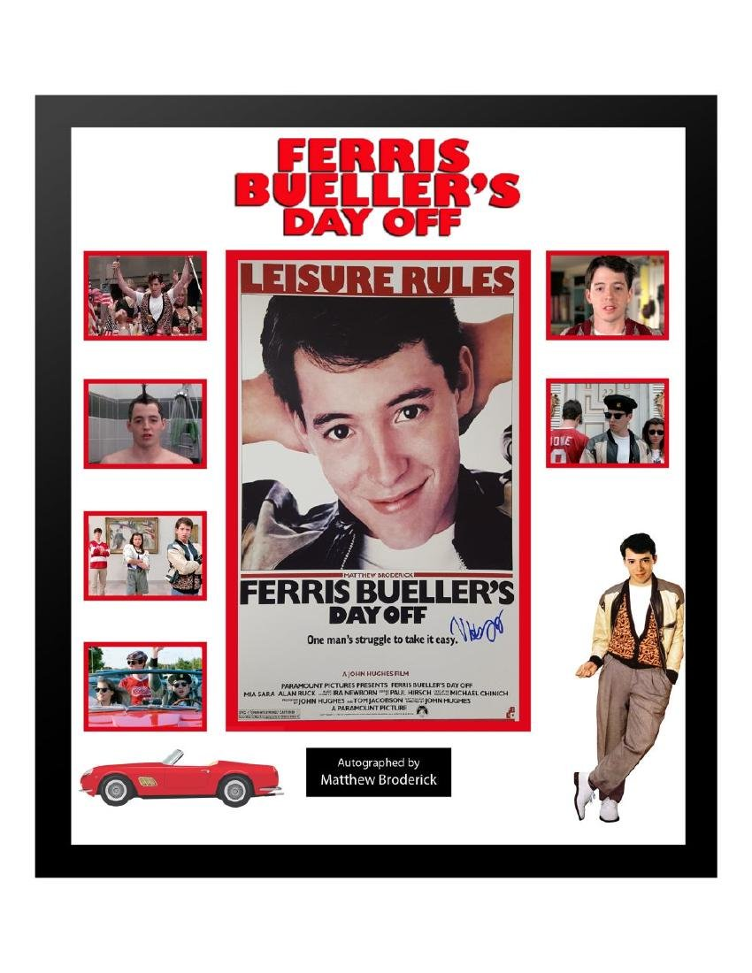Ferris Bueller's Day Off Collage