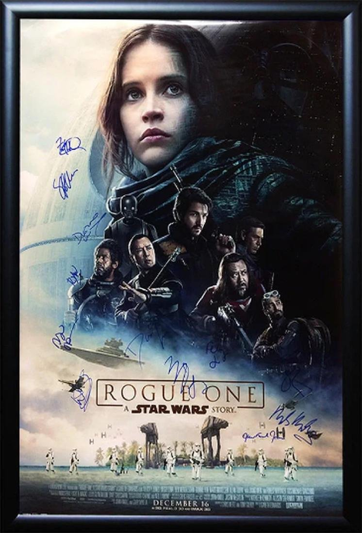 Rogue One - A Star Wars Story - Cast Signed Movie