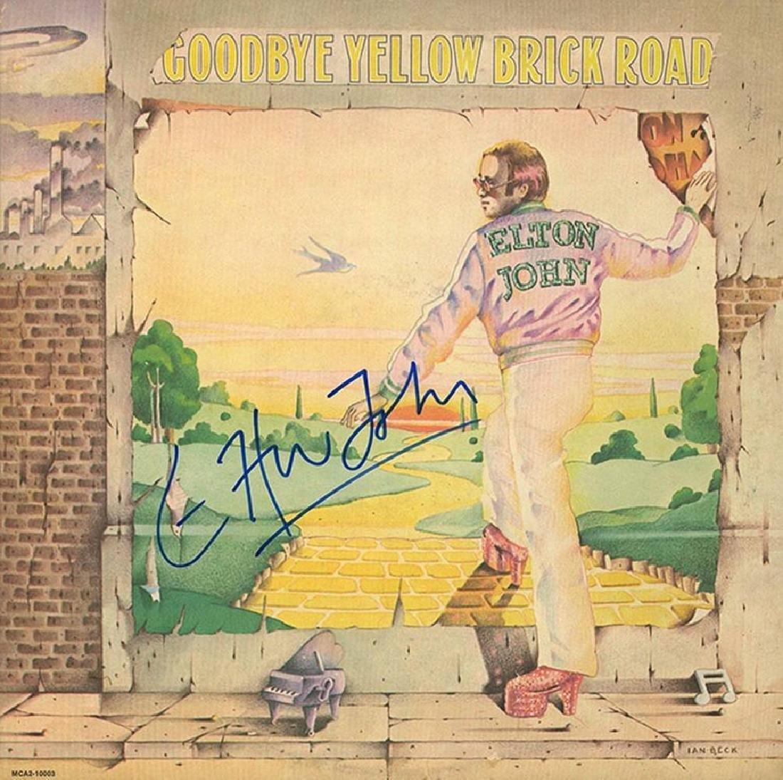"Elton John ""Goodbye Yellow Brick Road"" Album"