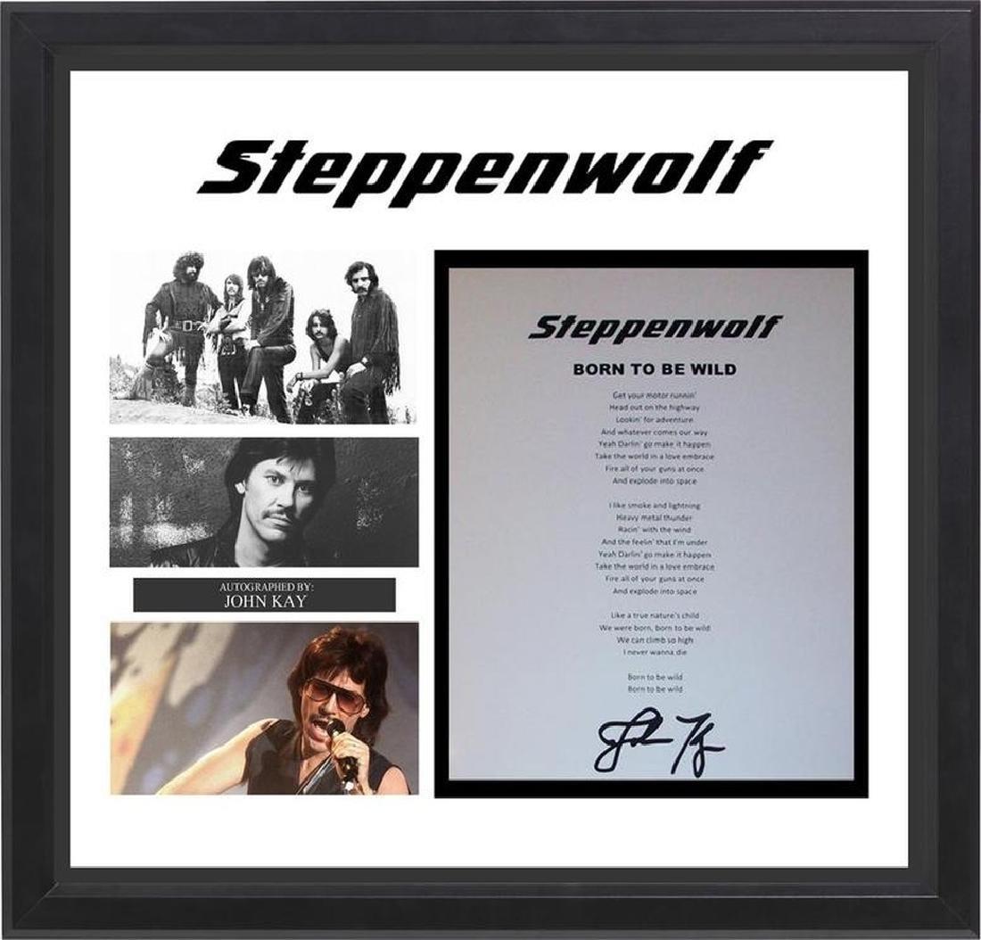 Steppenwolf Born To Be Wild Signed Lyrics