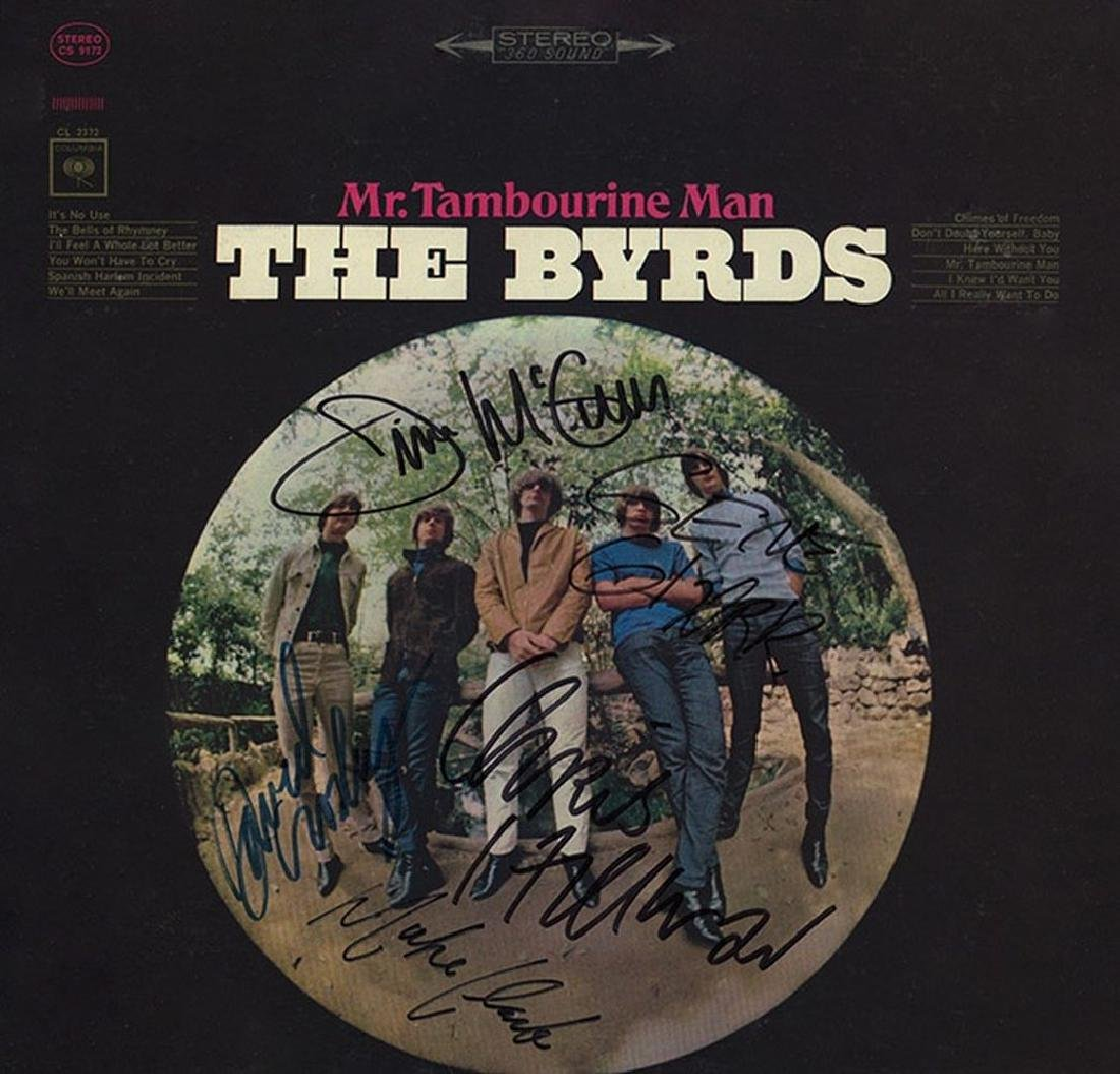 """Byrds """" Mr. Tambourine Man"""" Album"""