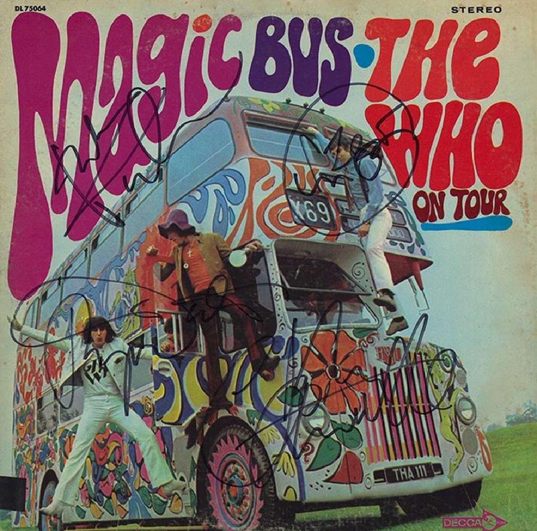 """Who """"Magic Bus"""" Album"""