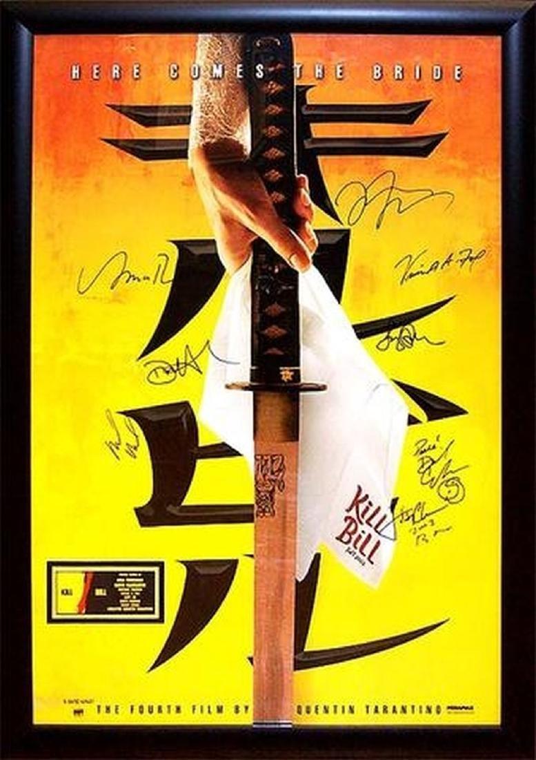 Kill Bill Vol 1 - Signed Movie Poster