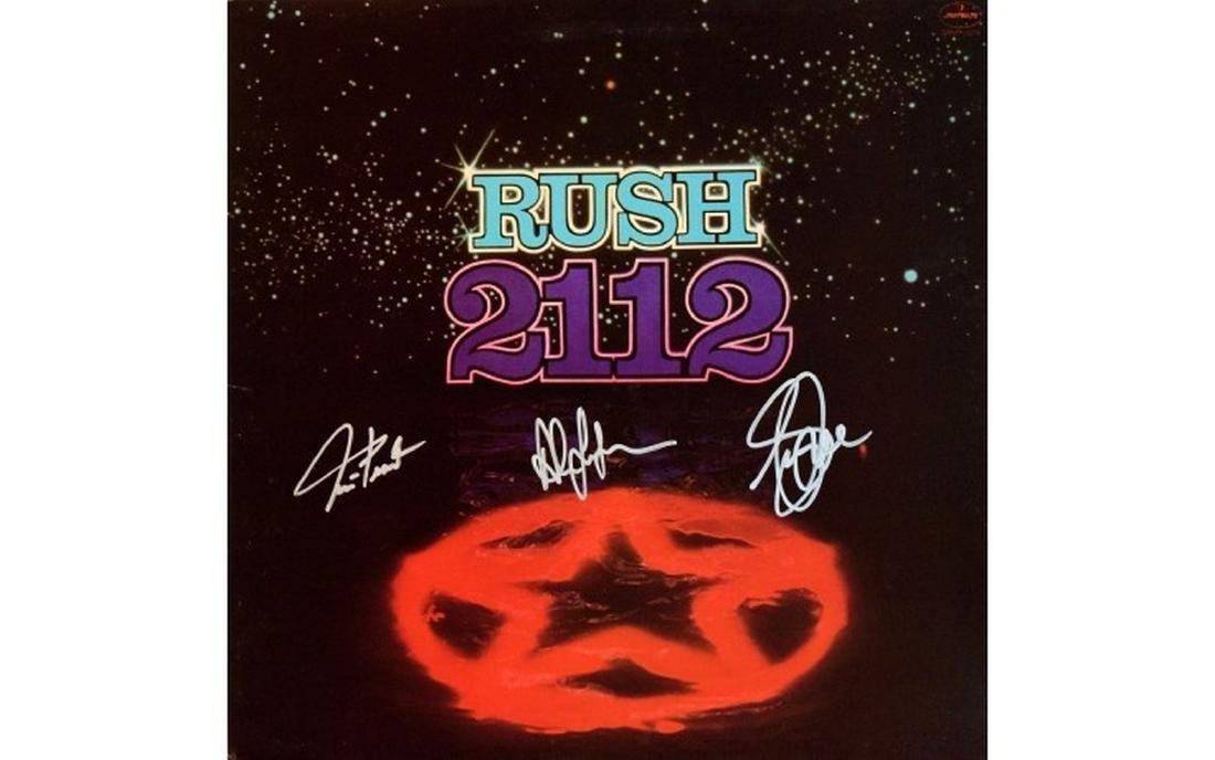 "Rush ""2112"" with Star Album"