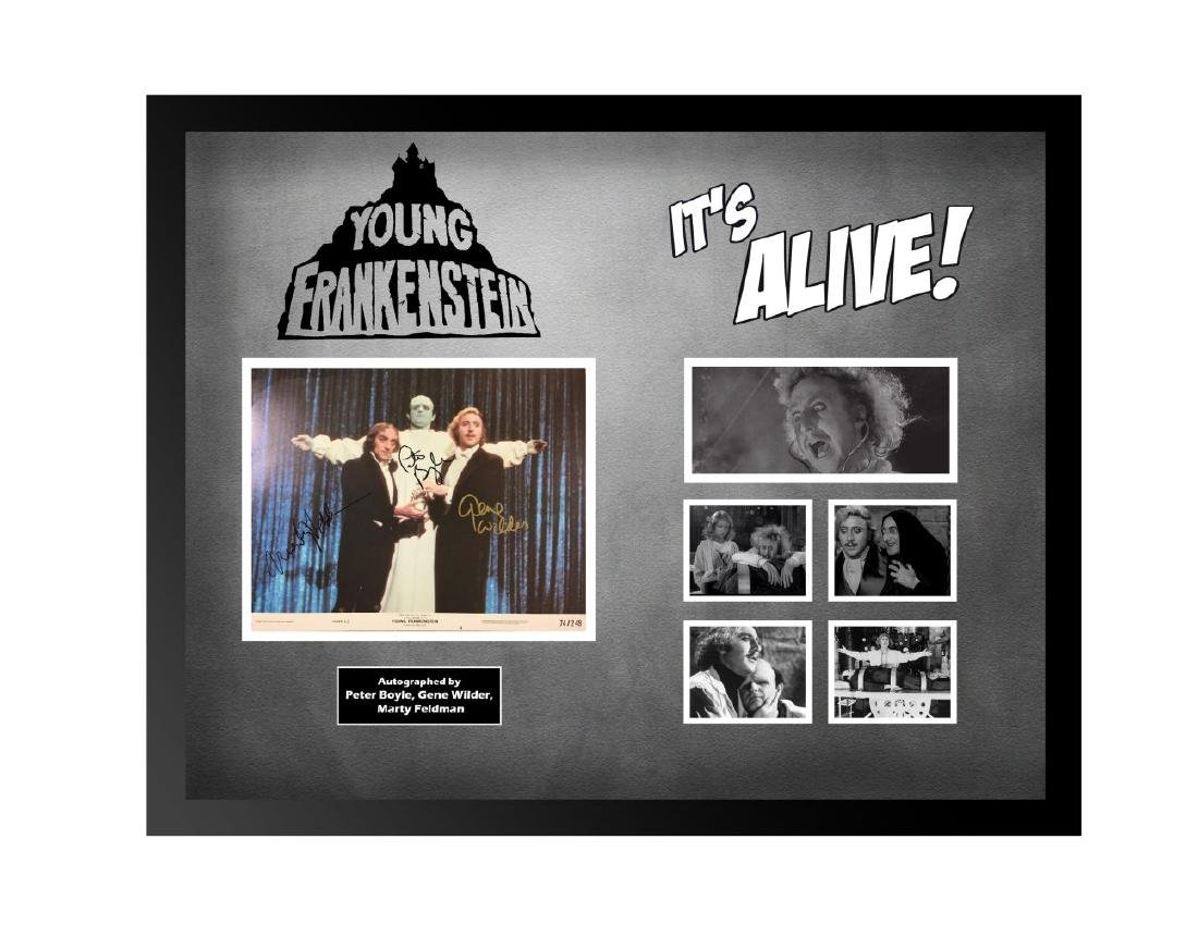Young Frankenstein It's Alive Collage