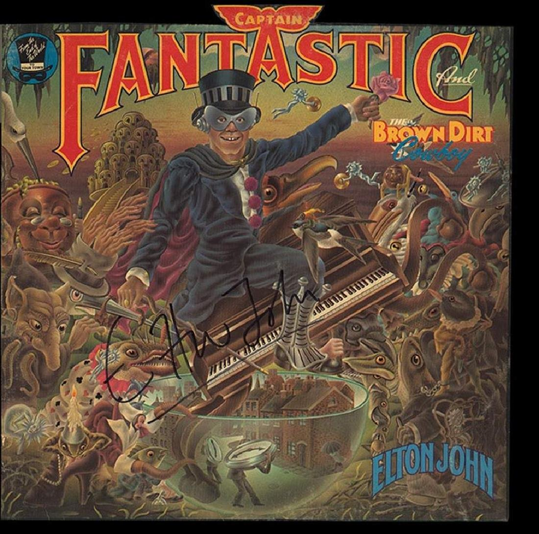 "Elton John ""Captain Fantastic and the Brown Dirt"