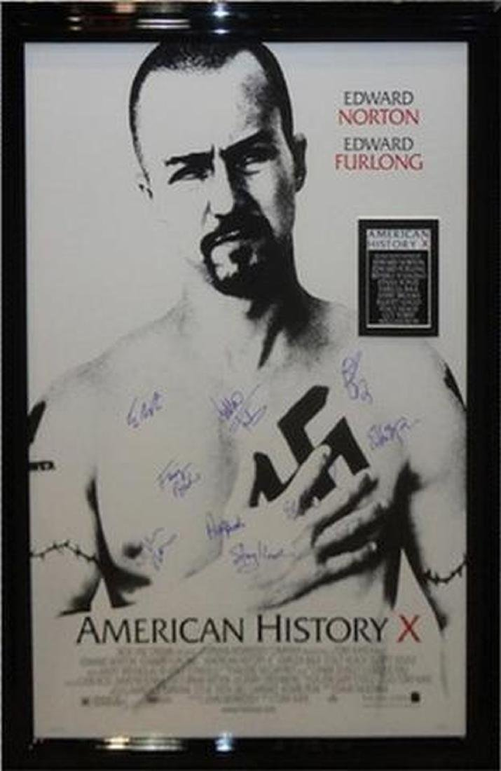 American History X - Signed Movie Poster