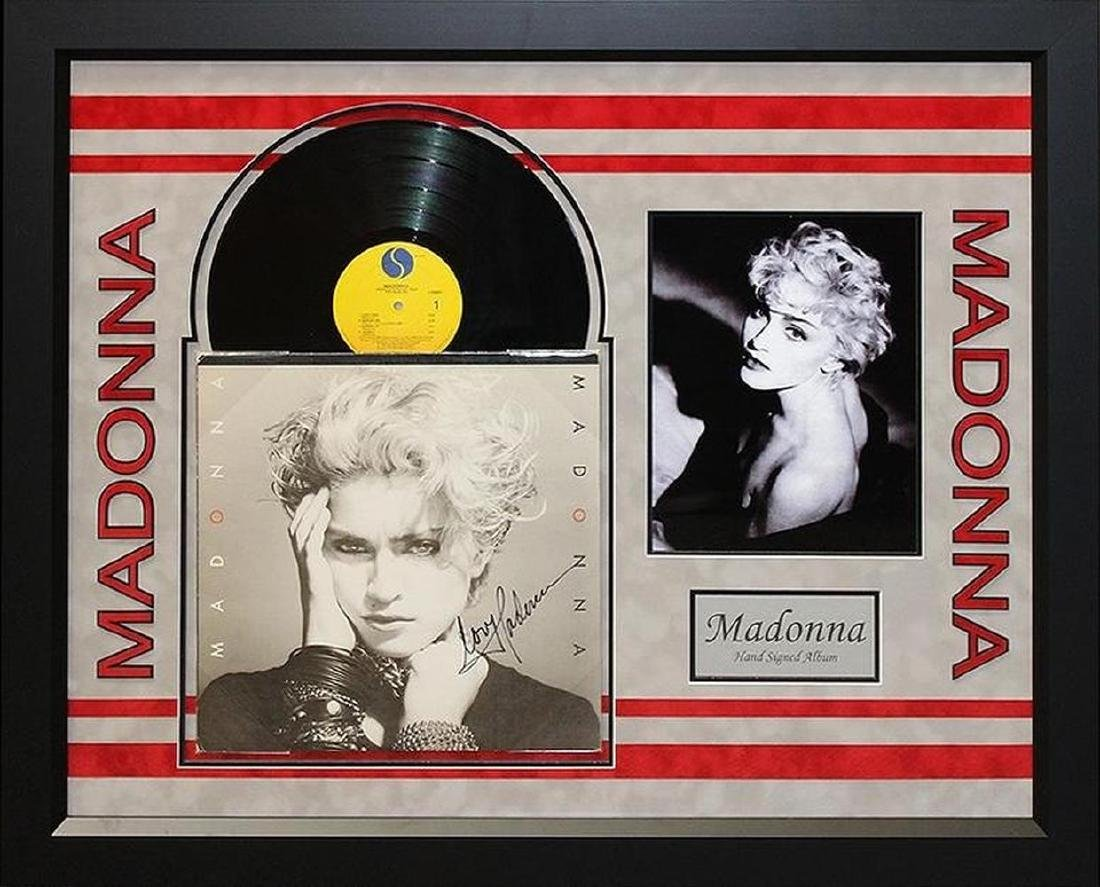 "Madonna ""Madonna"" Signed Album"