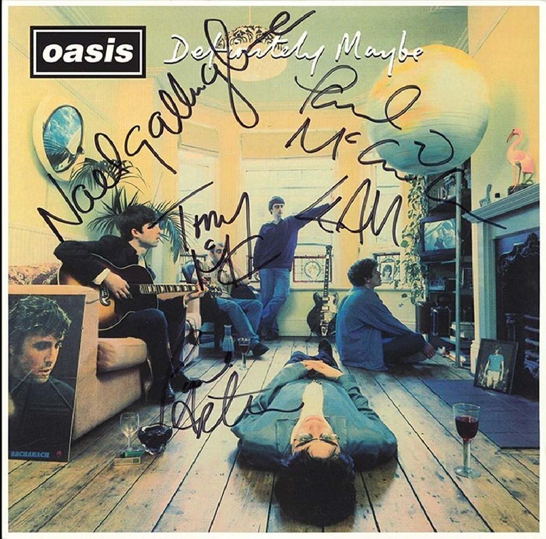 "Oasis ""Definitely Maybe"" Album"