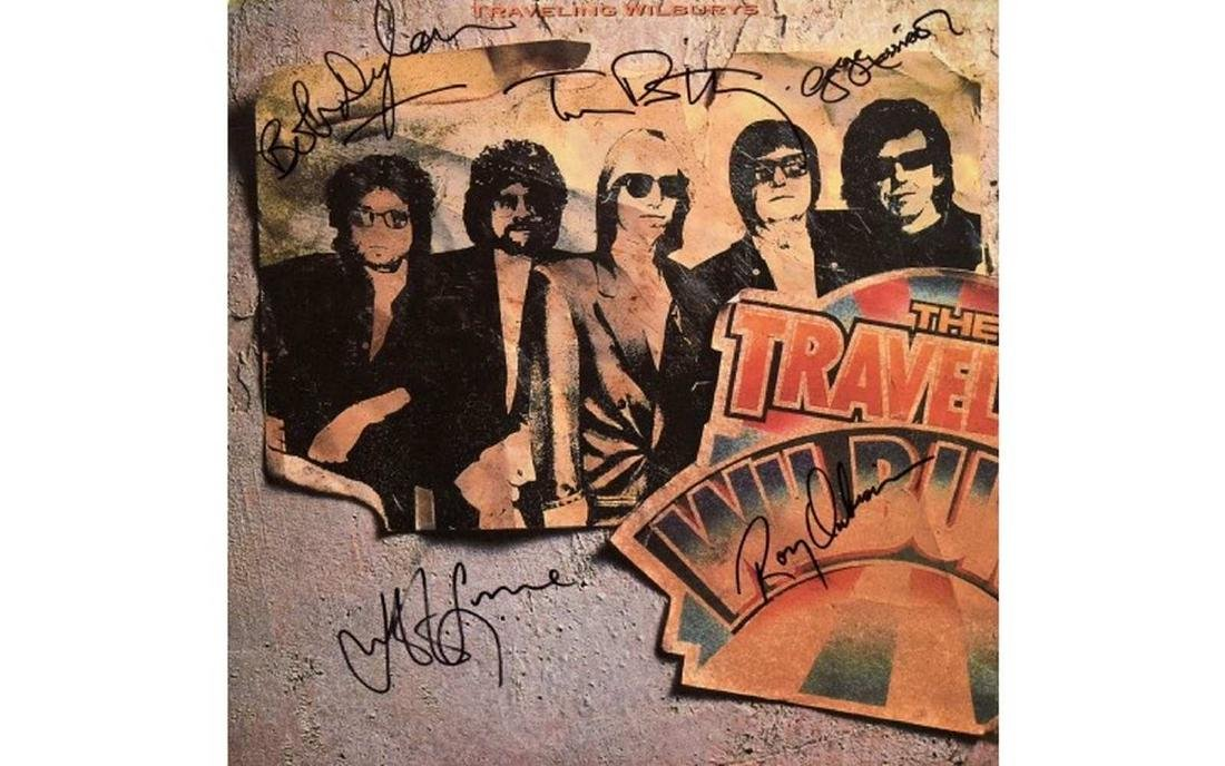 "Traveling Wilburys ""Vol. 1"" Signed Album"