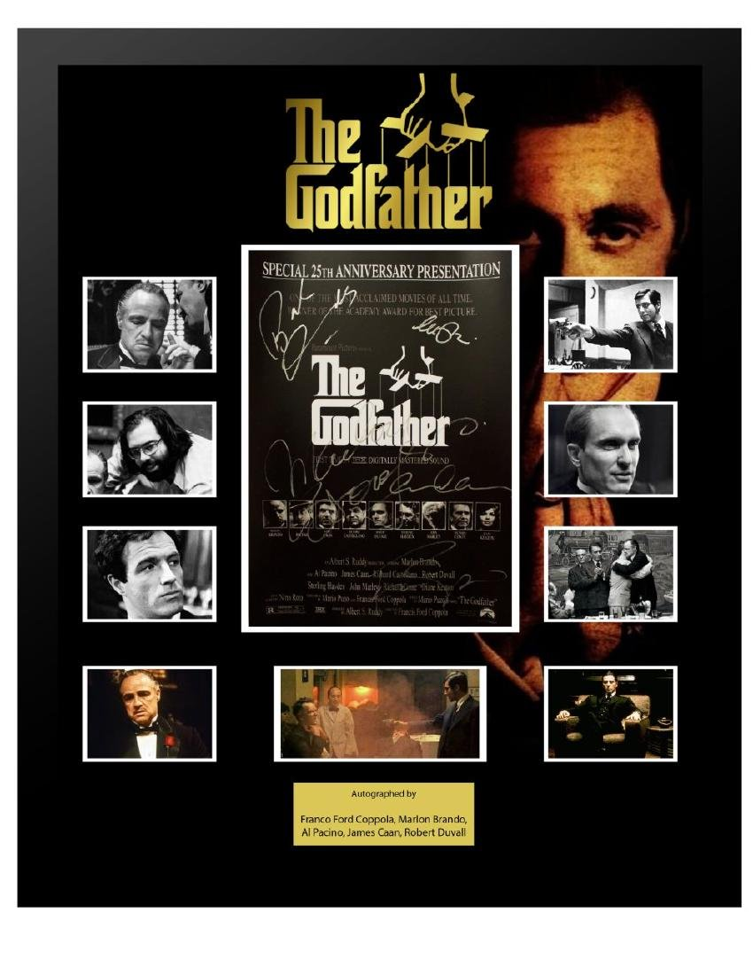 Godfather Mini Poster Collage