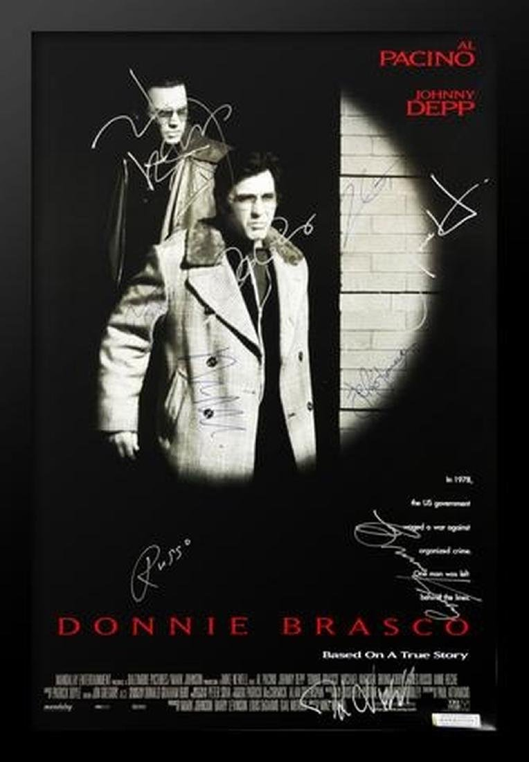 Donnie Brasco -  Signed Movie Poster