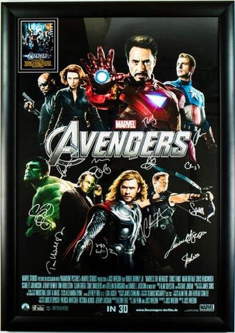 The Avengers - Signed Movie Poster