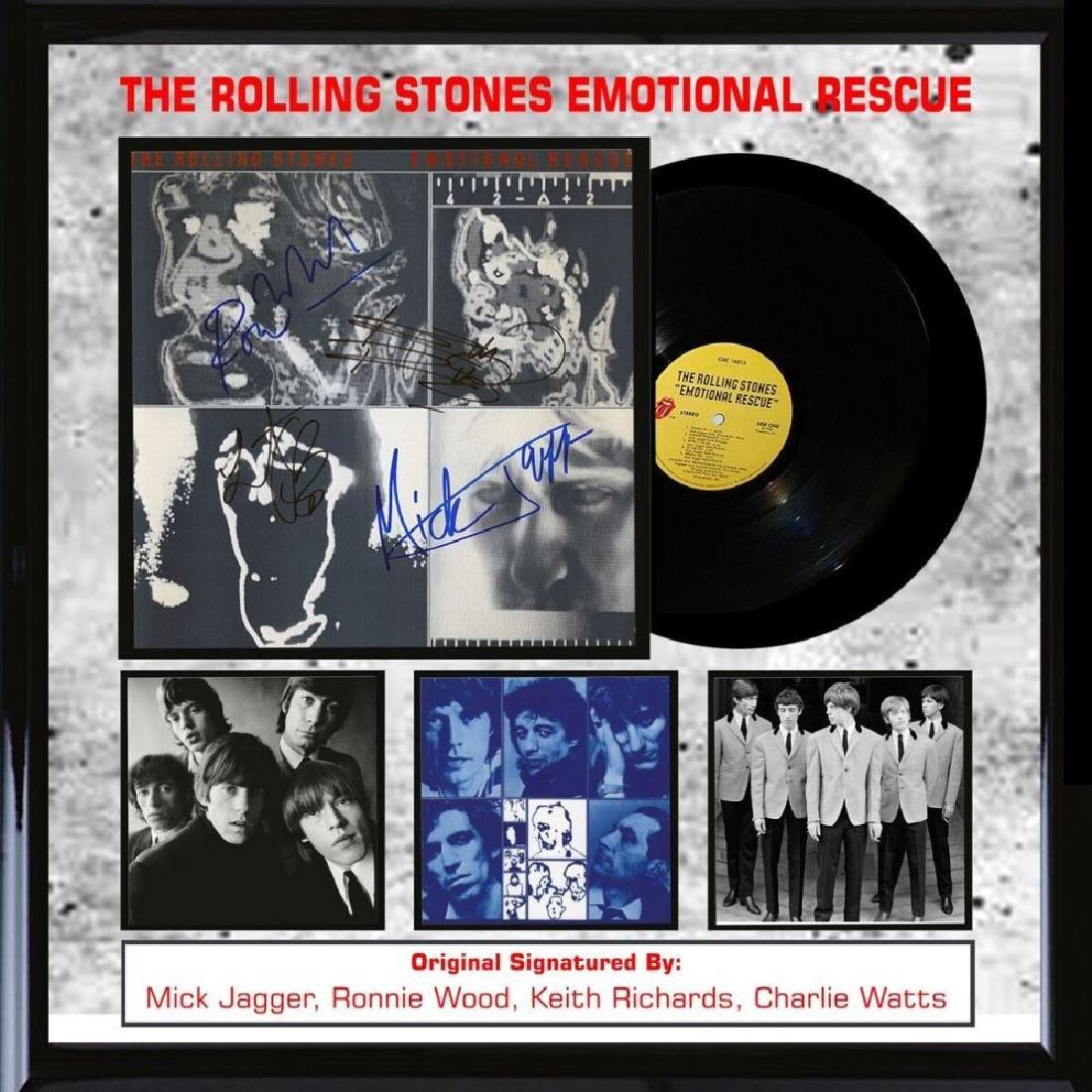 Rolling Stones Emotional Rescue Album