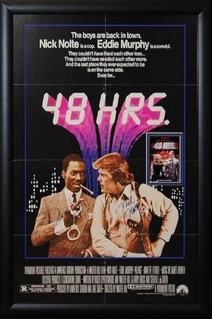 48 Hrs - Signed Movie Poster