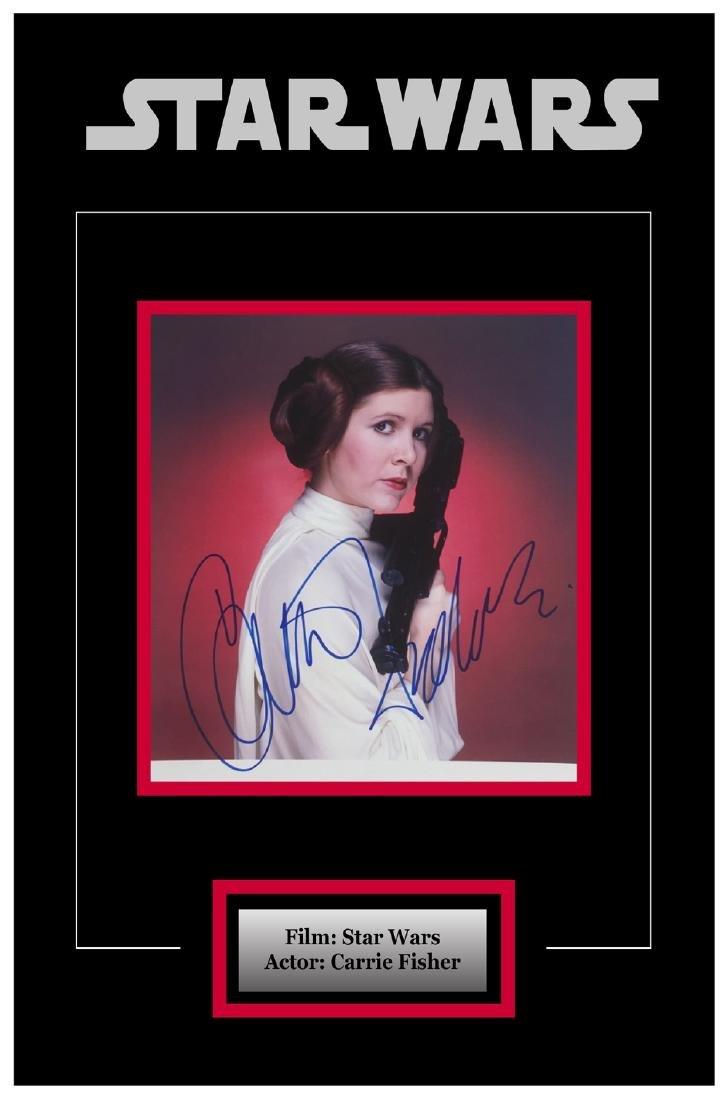 Framed Princess Leia Artist Series