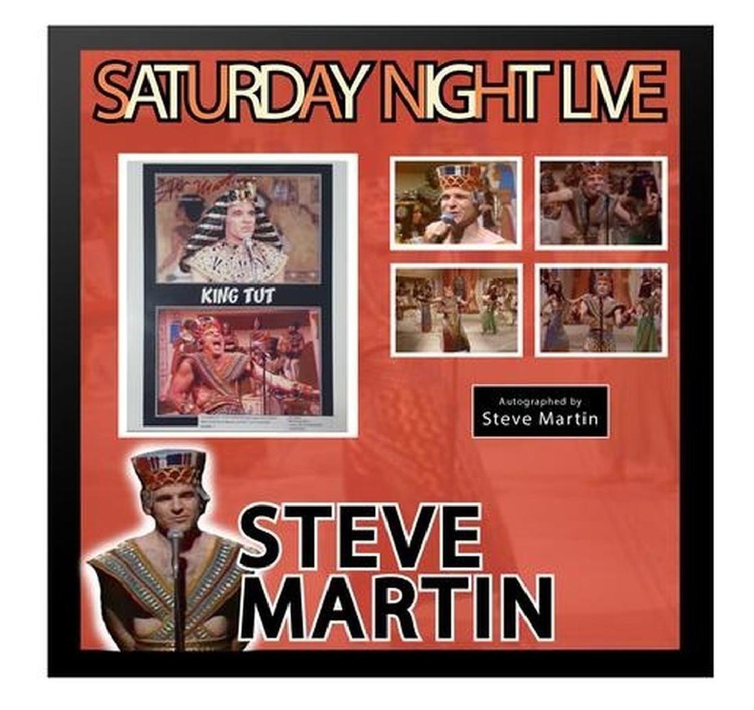 "Steve Martin King Tut ""Saturday Night Live"" framed"