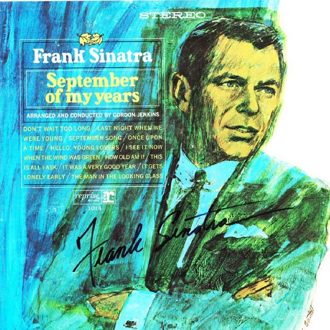 "Frank Sinatra ""September of My Years"" Album"