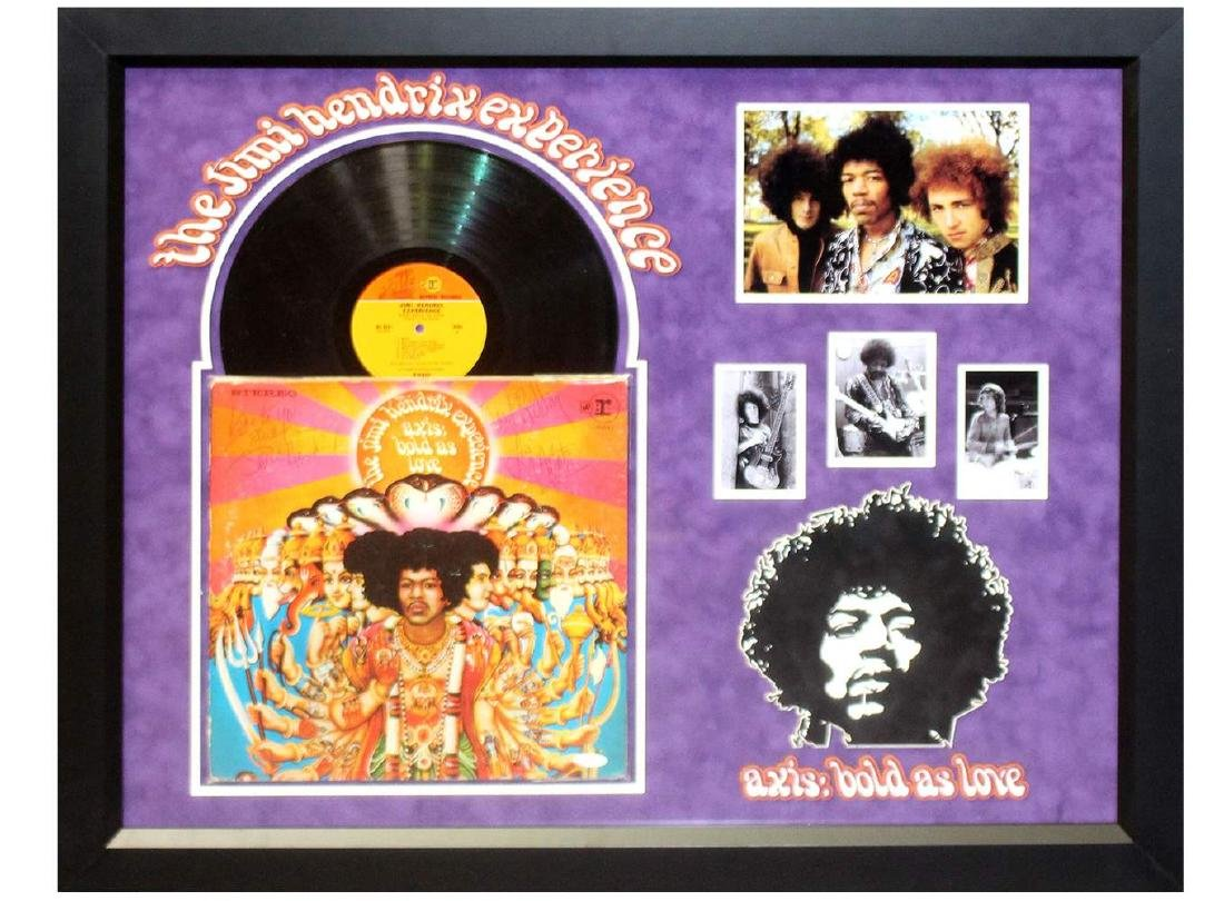 "Jimi Hendrix ""Axis Bold as Love"" Album"