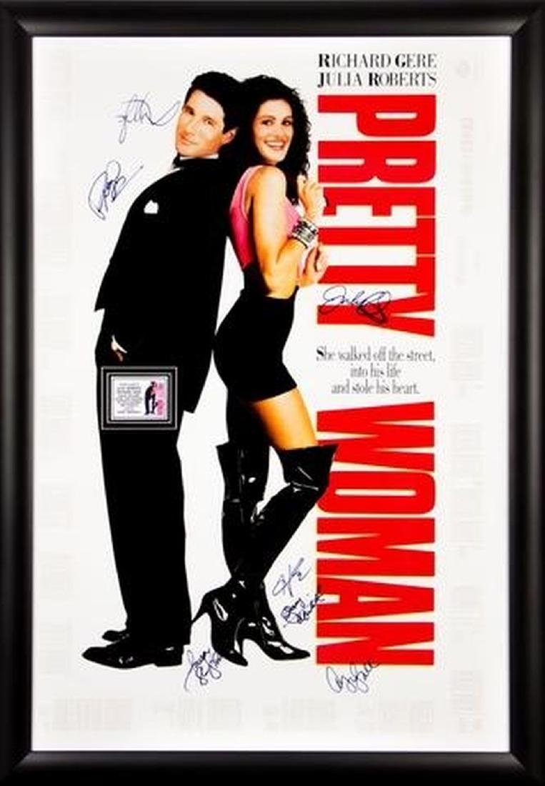 Pretty Woman - Signed Movie Poster