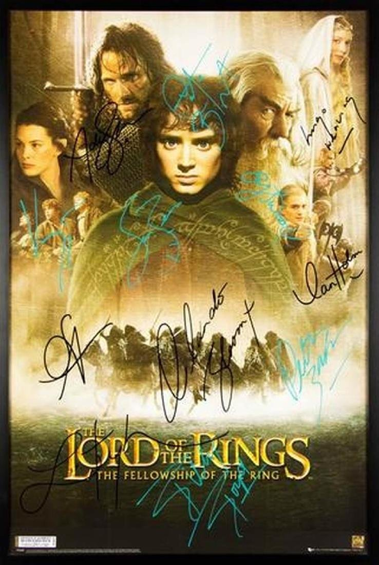 Lord of the Rings - The Fellowship of the Ring - Signed