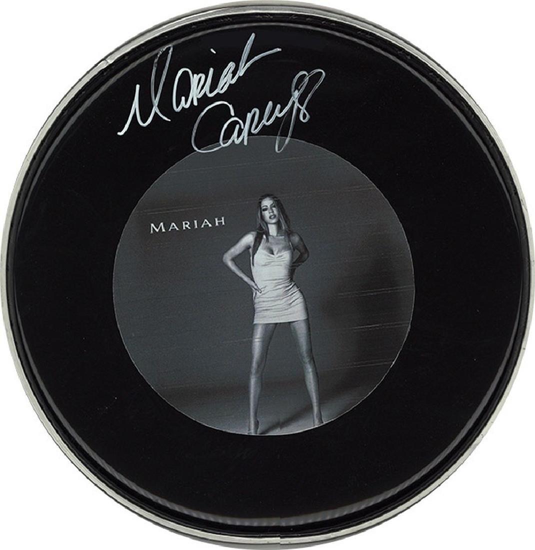 "Mariah Carey ""#1s"" Drum Head"