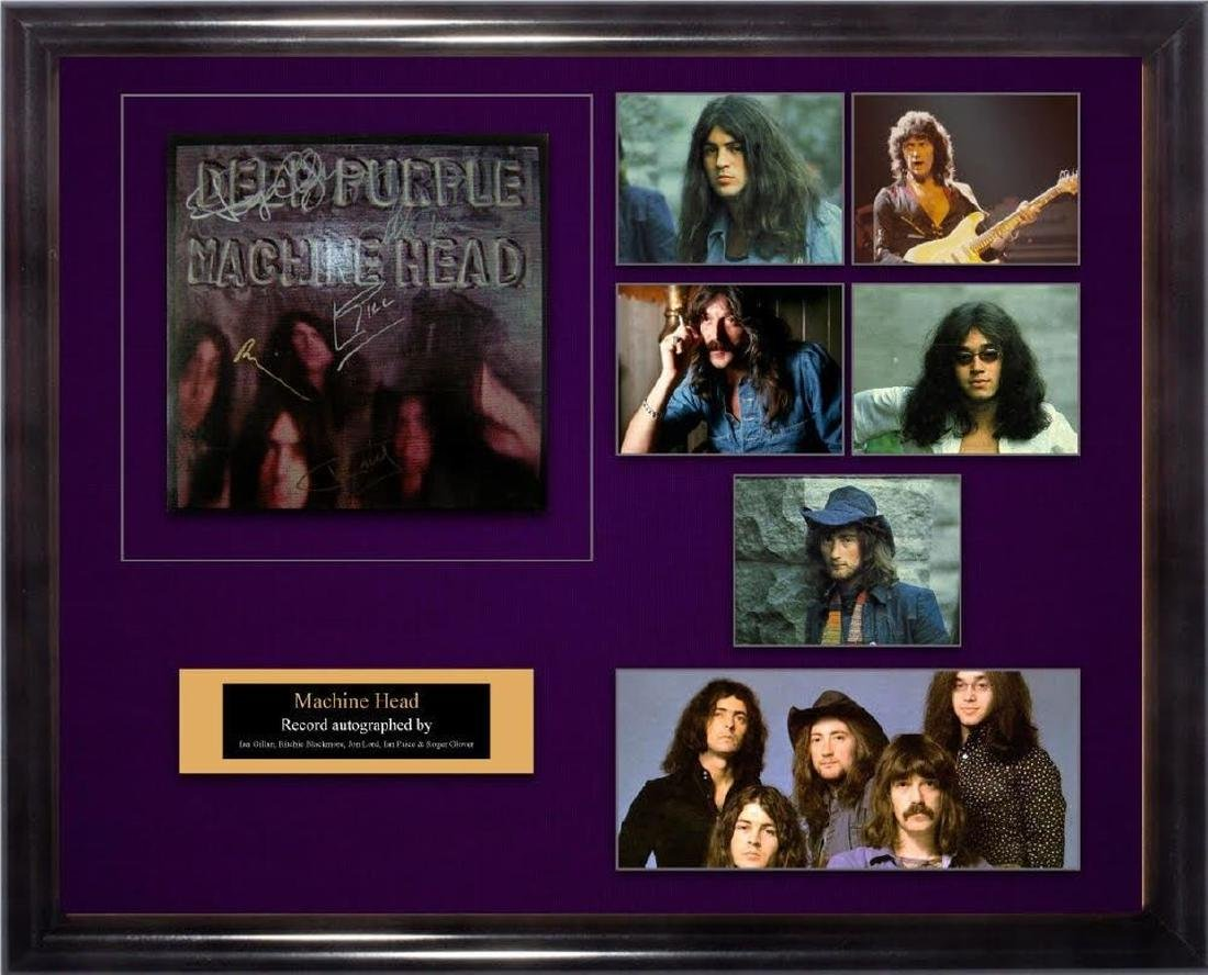 "Deep Purple ""Machine Head"" Album"