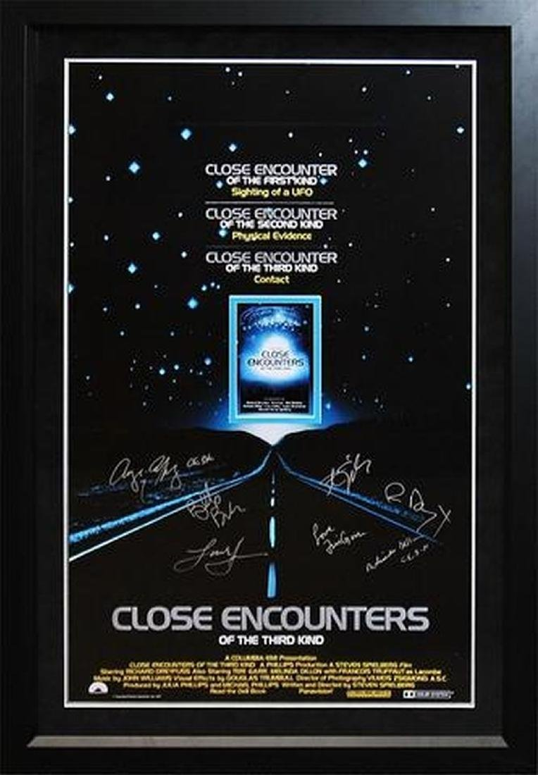 Close Encounters Of The Third Kind - Signed Movie