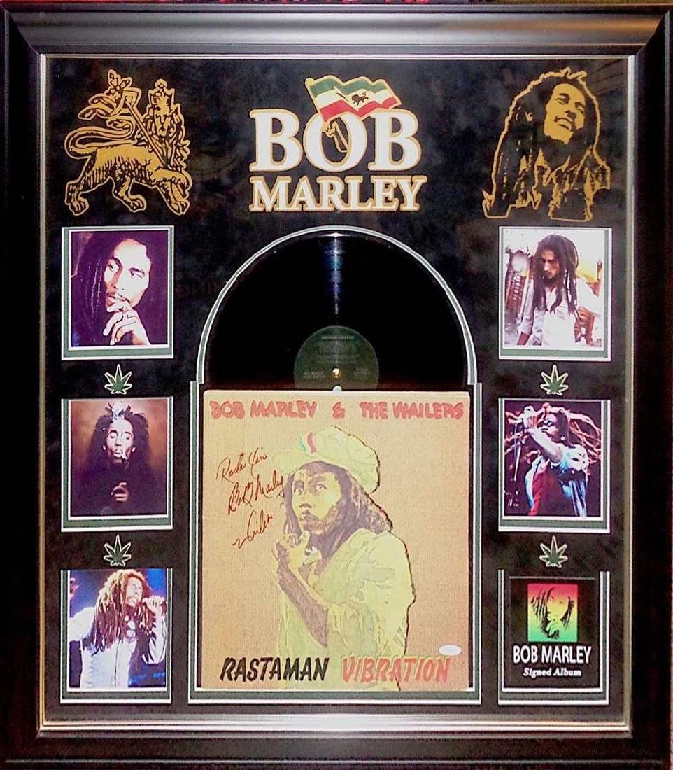 "Bob Marley ""Rastaman Vibrations"" Album"
