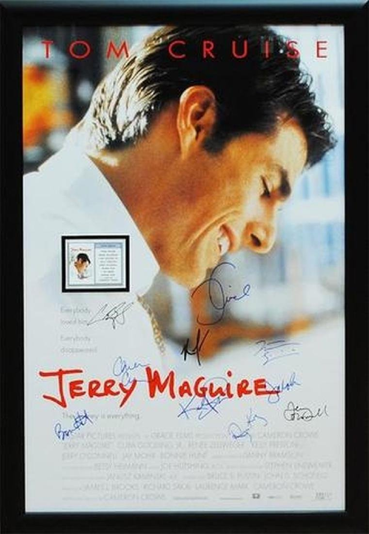 Jerry Maguire - Signed Movie Poster