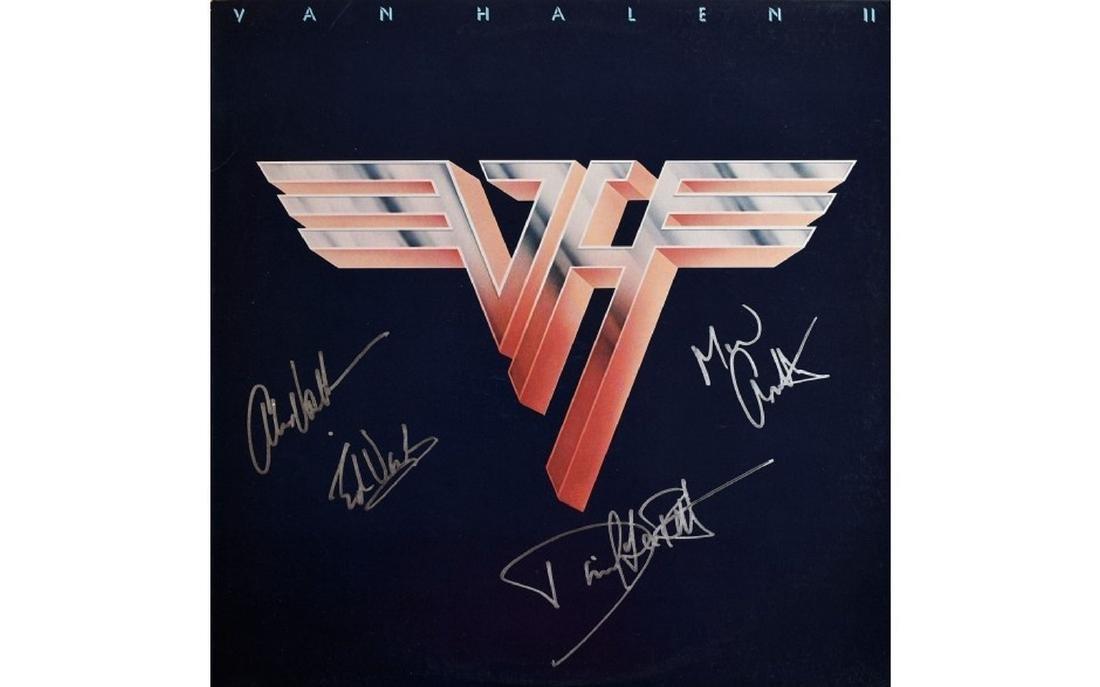 Van Halen 2 Unframed Album