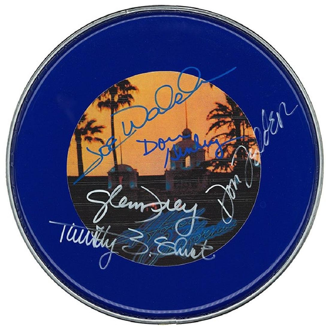 Eagles Signed Drum Head