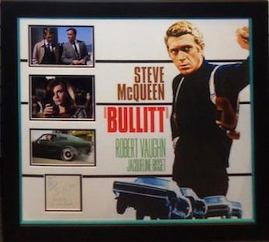 Steve McQueen Bullit Colllage