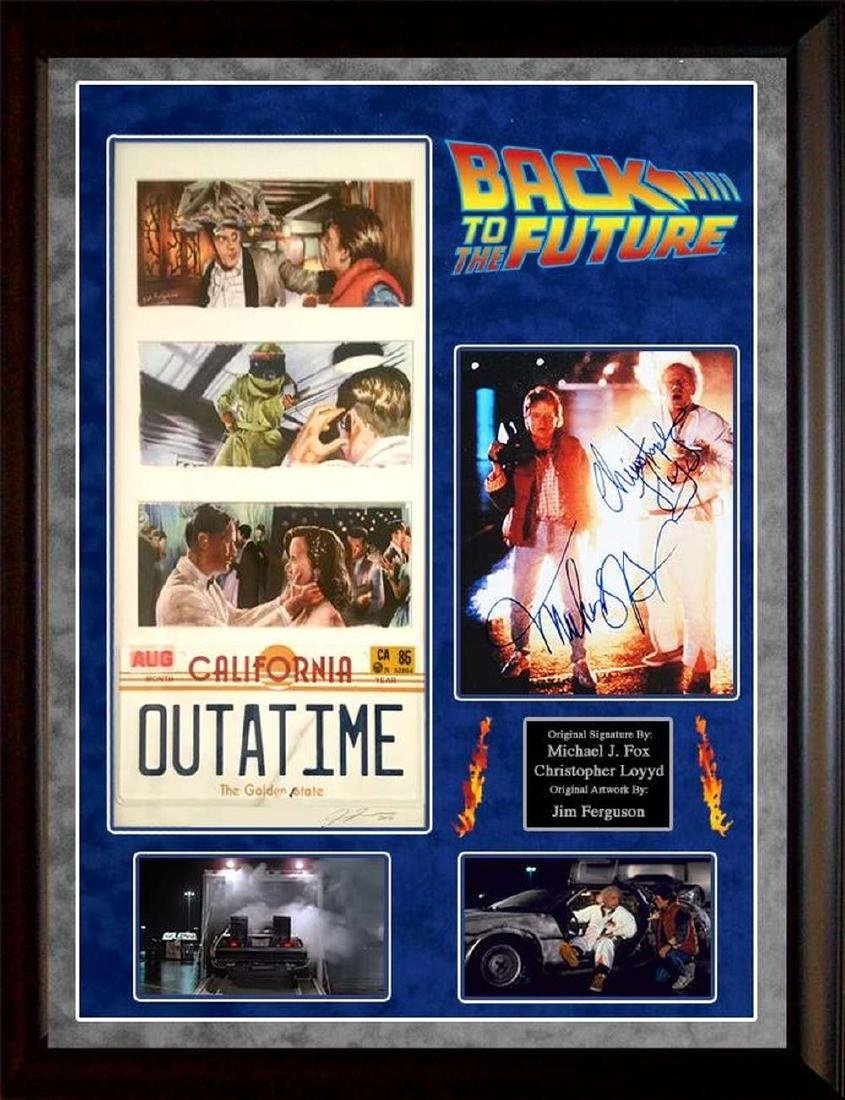 Back to the Future Outta Time Collage