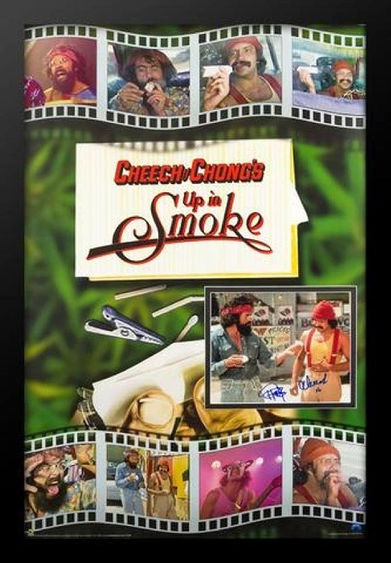 Cheech & Chong: Up In Smoke - Signed Photo in Movie