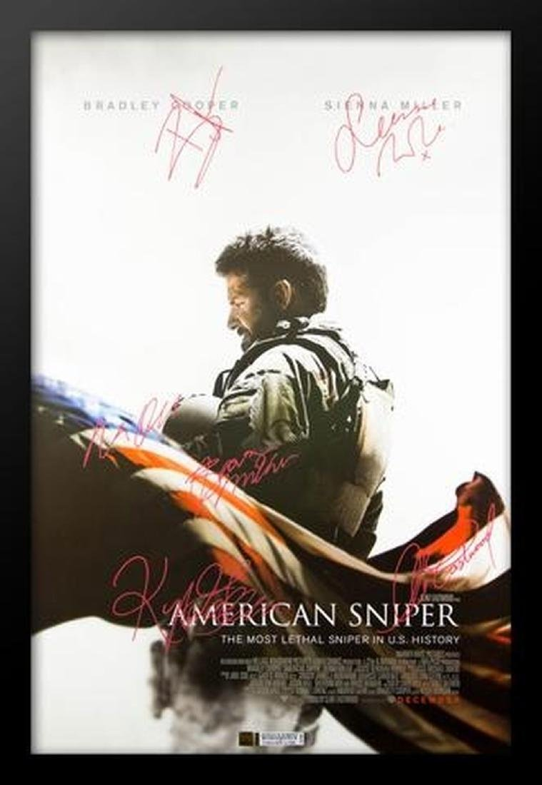 American Sniper - Signed Movie Poster