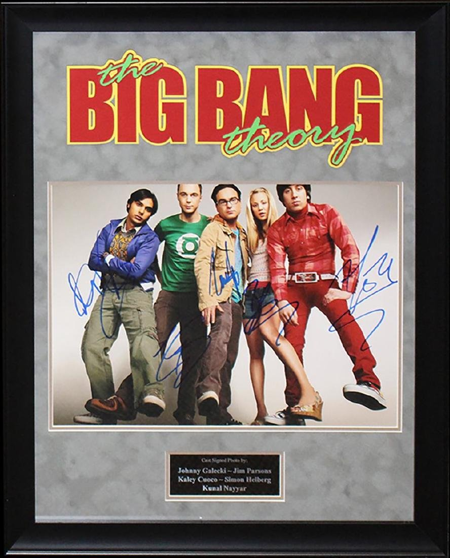 Big Bang Theory Signed Photo