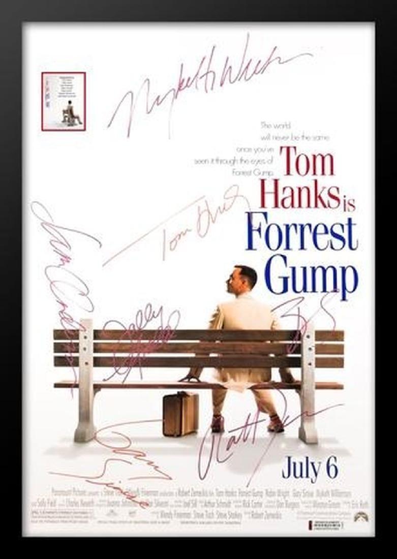 Forrest Gump - Signed Movie Poster