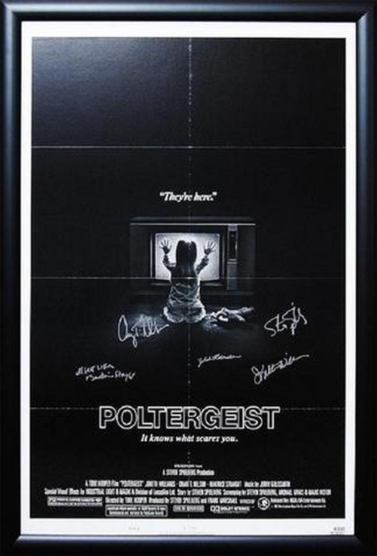 Poltergeist - Signed Movie Poster