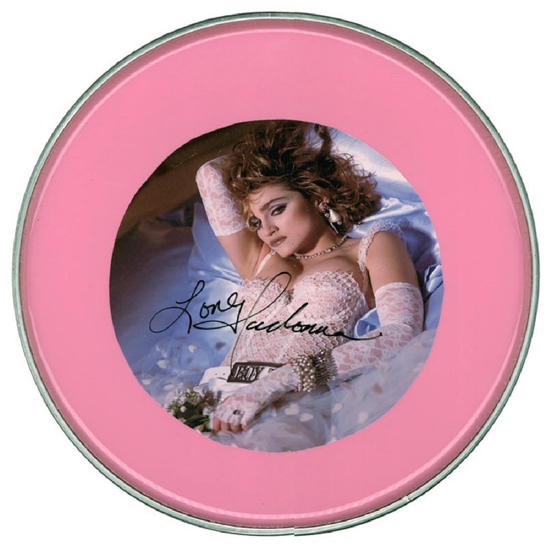 Madonna Drum Head
