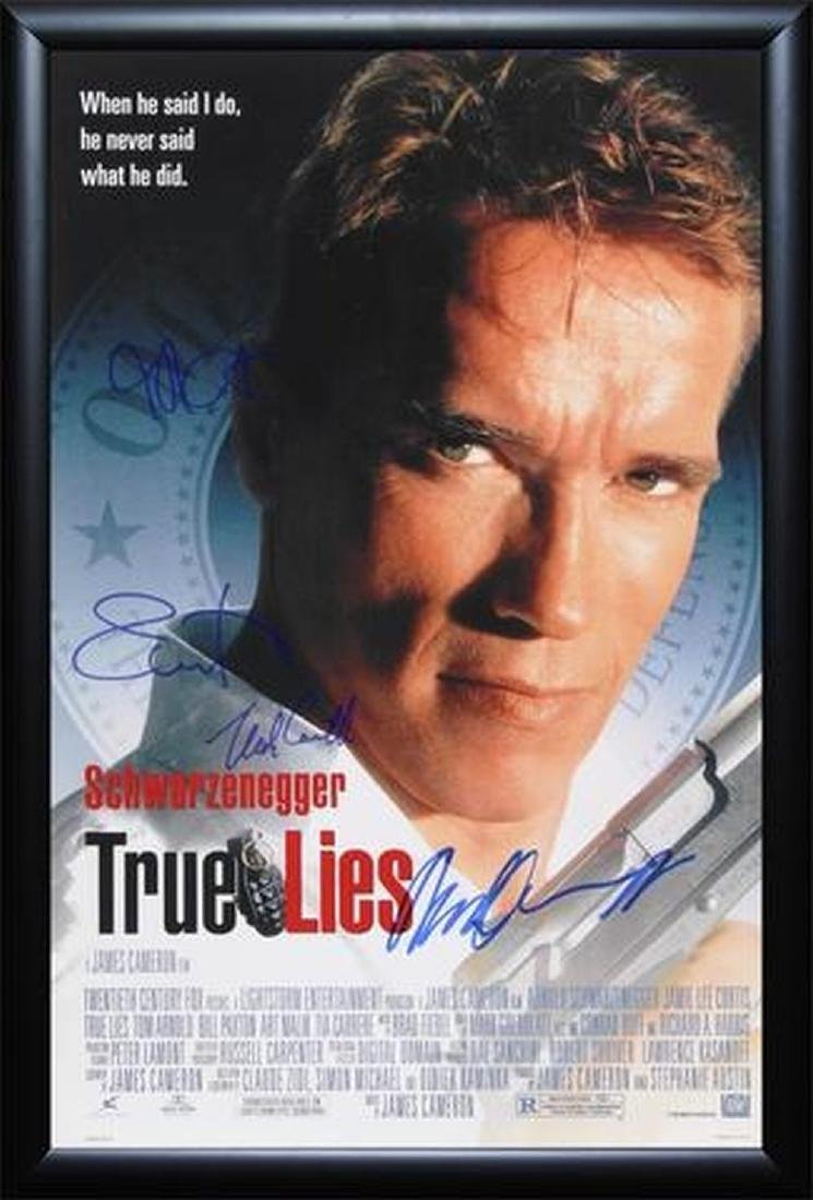 True Lies - Signed Movie Poster