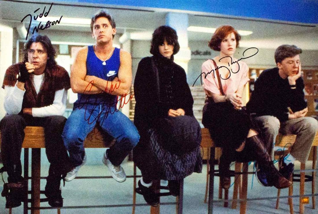 Breakfast Club – Signed Photo