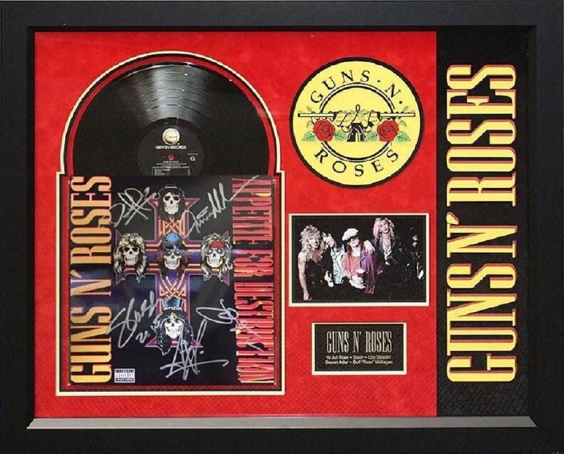 """Guns N' Roses """"Appetite for Destruction"""" Album"""